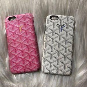 "Accessories - ""Goyard"" iPhone 6/6s cases (set of 2)"